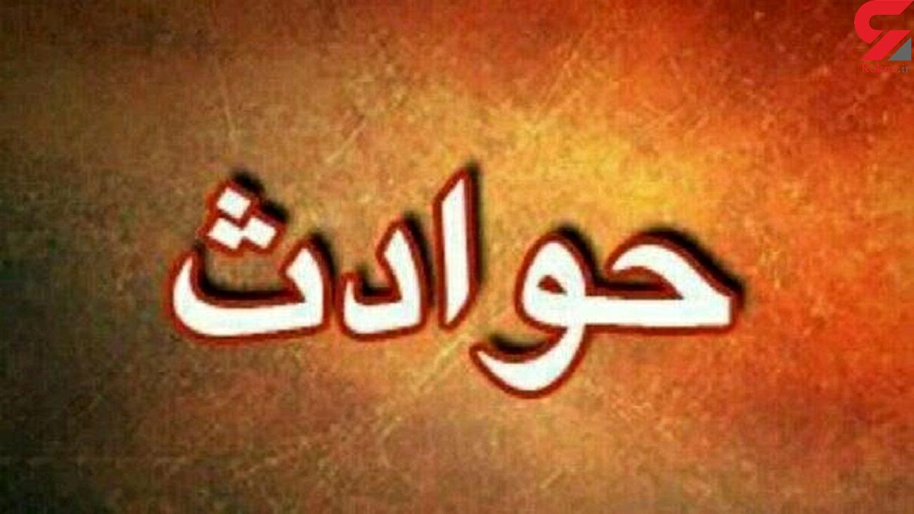 مرگ تلخ کارگر پاکبان شهرداری در تصادف پل سیدخندان