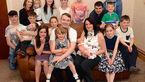 دیدار عجیب دو خانواده 35 نفره انگلیسی و استرالیایی+ تصاویر