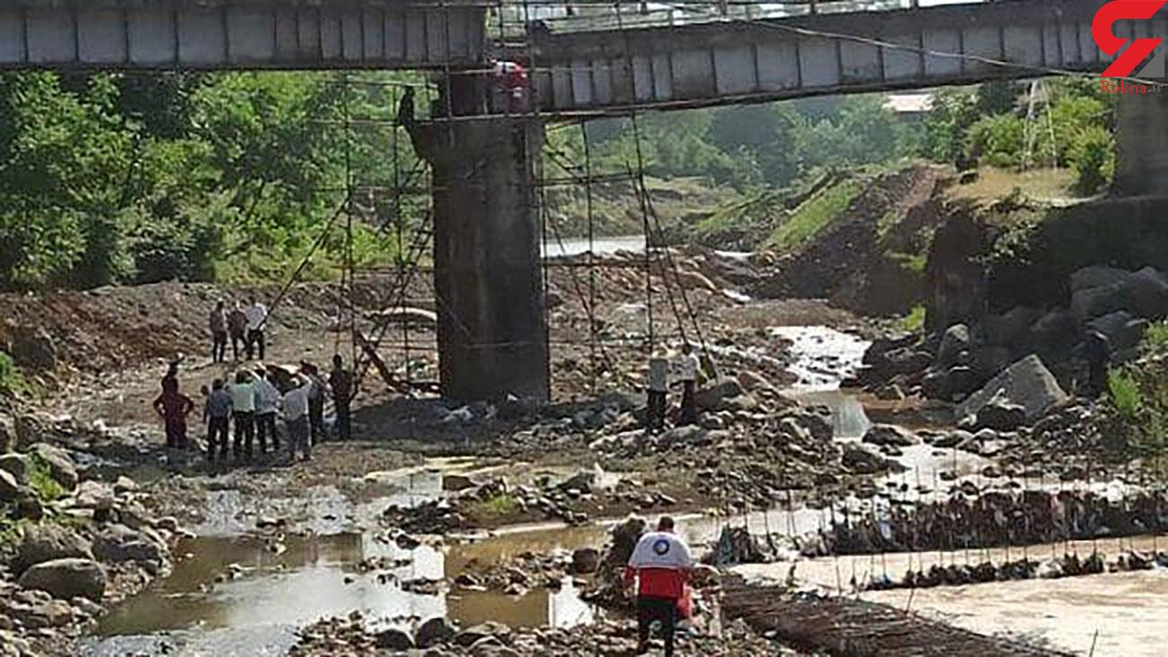 2 کشته و زخمی در ریزش پل لرداسرای بخش رانکوه املش