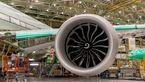 بزرگترین موتور جهان روی هواپیمای بوئینگ/با فناوری چاپ سه بعدی