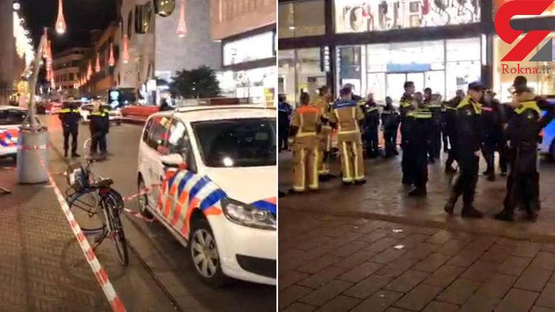حمله با چاقو در شهر لاهه هلند