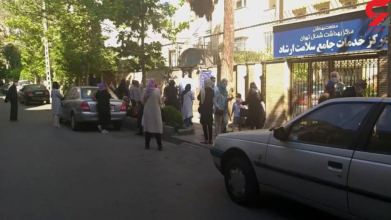 بی توجهی وزارت بهداشت به اعتراضات درباره نحوه واکسیناسیون بالای 80 ساله ها + فیلم