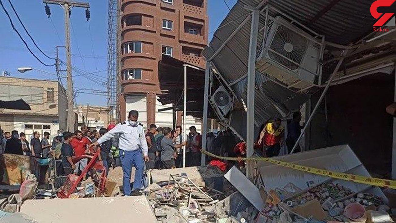 آخرین خبر از انفجار بازار عامری اهواز / مقصر کیست ؟