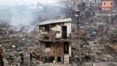 انفجار زودپز 600 خانوار فقیر را آواره کرد!+عکس