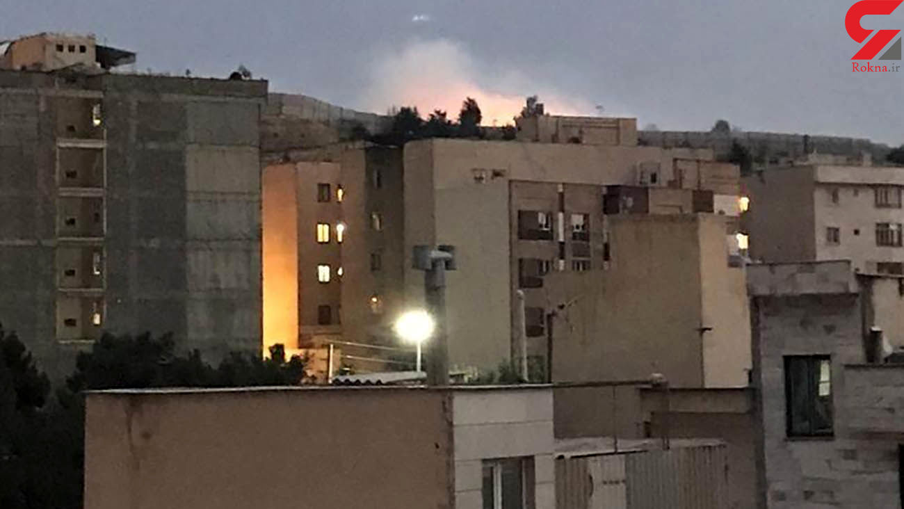 توضیح پلیس درباره آتشسوزی در شرق تهران / ساعتی پیش رخ داد