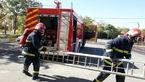 عملیات اطفای حریق و امداد و نجات طی یک شبانه روز انجام شد