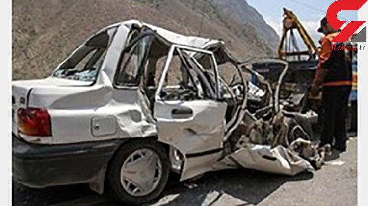 6 مصدوم در تصادف محور آستارا - اردبیل