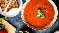 آش گوجه پیش غذای محبوب تبریزی ها+ دستور پخت