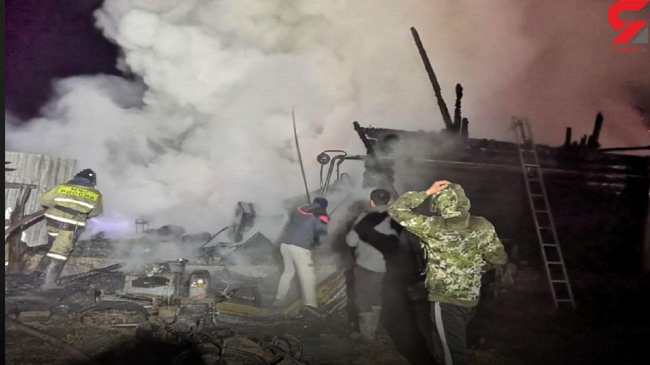 آتش سوزی در یک سرای سالمندان در روسیه ۱۱ کشته بر جای گذاشت
