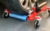 ابزاری جالب و کاربردی برای جا به جا کردن خودروها + فیلم