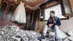 بمب های اسرائیل خانه رؤیاهای یک عروس سوری و داماد فلسطینی را ویران کرد+ عکس