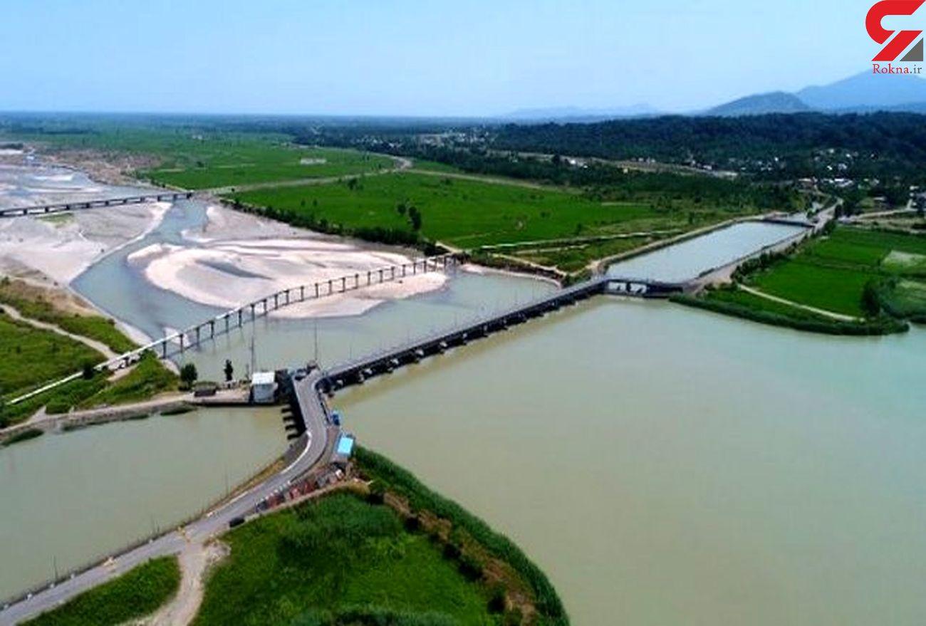 کانال های آبیاری شبکه سفید رود آبگیری شد