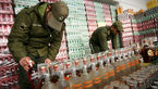 560 بطری از انواع مشروبات خارجی و دستساز کشف شد