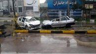 3 عضو یک خانواده در سقوط  خودرو به گودال جان باختند + فیلم و عکس