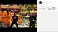 حرکات رزمی امین حیایی در معبد شائولین! +فیلم