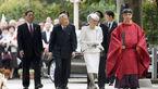 بازدید امپراتور ژاپن از معبد مهاجران کرهای باستان