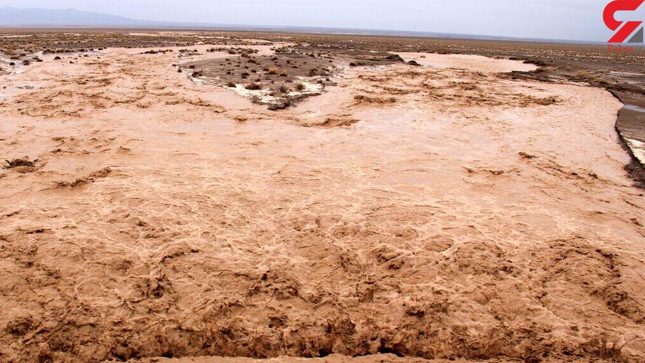 3 کشته در سیل آوج قزوین