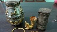 کشف اشیای تاریخی و عتیقه در شیروان