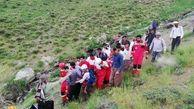 مرگ دلخراش جوان 23 ساله در ارتفاعات پنجه حسین آباد+ عکس