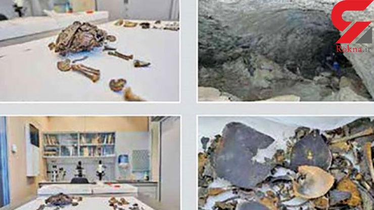 کشف مومیایی 500 ساله کودکان در غار