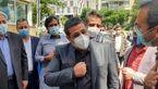 محمدشریف ملک زاده برای حضور در انتخابات 1400 ثبت نام کرد + عکس