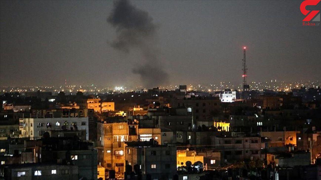 انفجار در نوار غزه