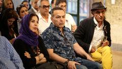 حضور فریبرز عربنیا پس از مدتها در مراسم بزرگداشت کیارستمی +عکس ها