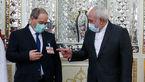 ماجرای بسته عجیب روی جیب کت وزیر سوری در دیدار با ظریف +عکس