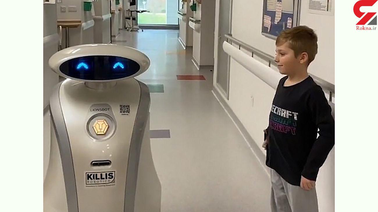 ساخت ربات روحیه بخش به بیماران کرونایی