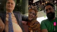 اقدام عجیب بهاره رهنما در لایو امشب خود و همسرش + عکس