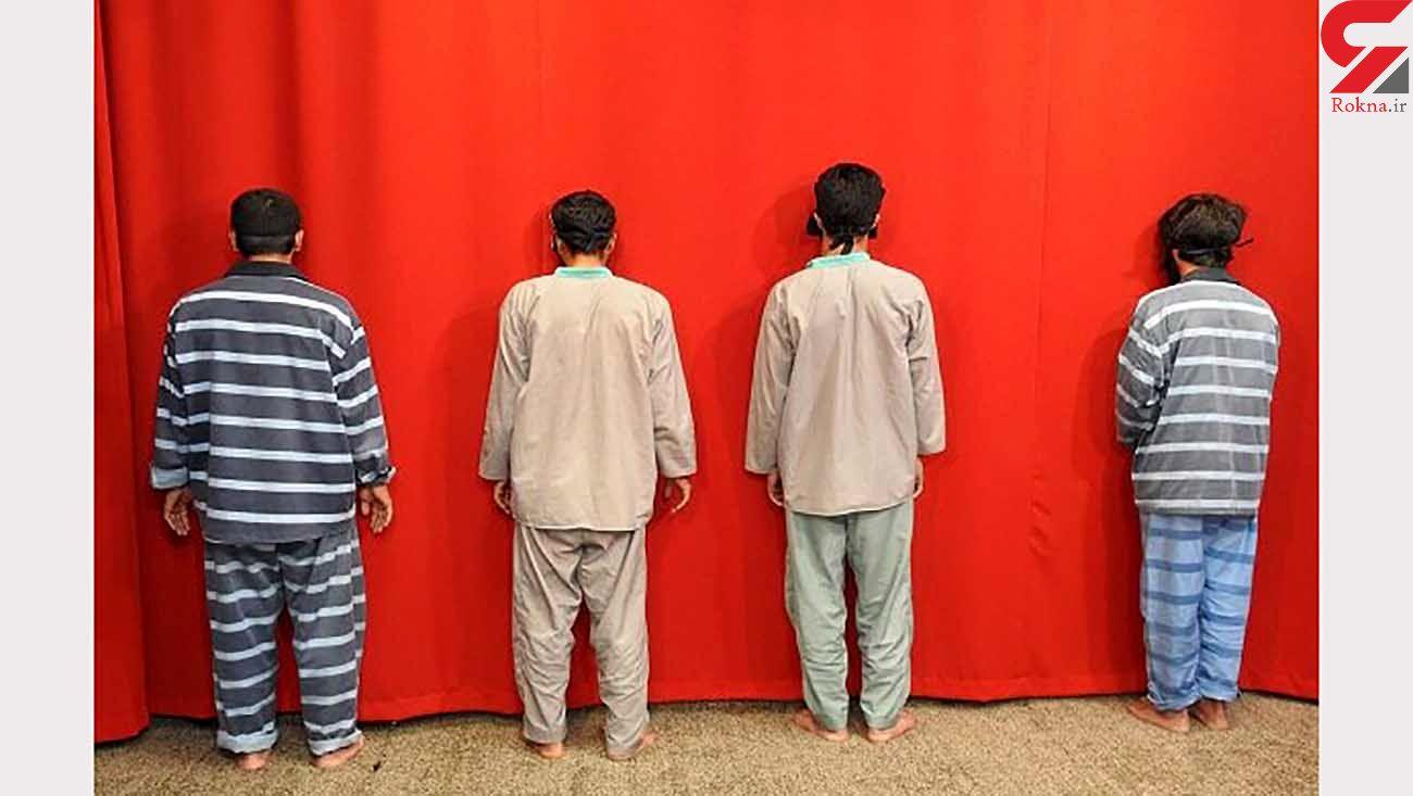 دستگیری 4 متهم قاچاق دام در گرمه