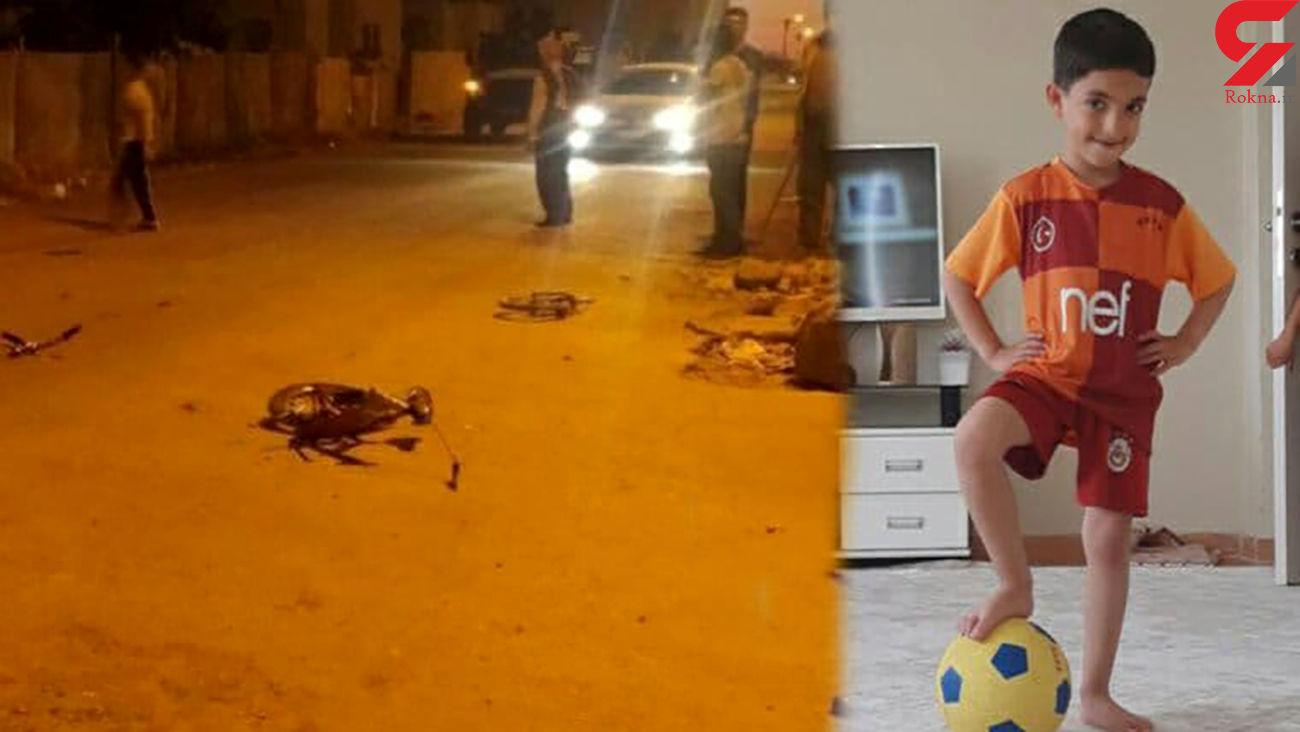مرگ دلخراش کودک 7 ساله در خیابان / پلیس او را مقصر دانست + عکس