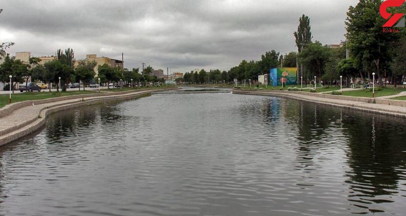 آب در رودخانه بالیخلو اردبیل جاری شد