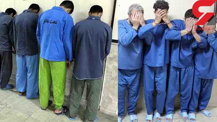 این 8 مرد خطرناک تهران را آشفته کرده بودند!+ عکس