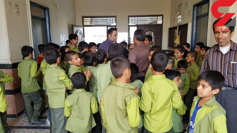 معلم فداکار بوشهری جان ۲۷ دانش آموزش را نجات داد + عکس