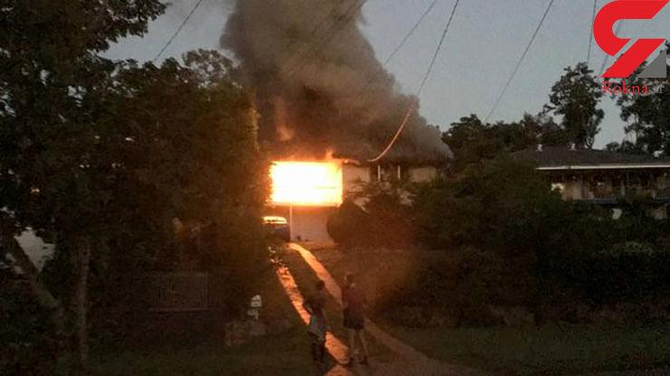 انفجار و حریق مرگبارِ یک منزل مسکونی در استرالیا