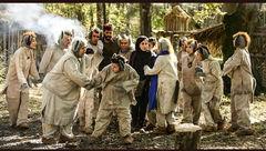 لیلا اوتادی در میان «خرهایی که آدم نمی شوند»+عکس