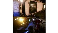 تصادف مرگبار در جاده سوادکوه+عکس