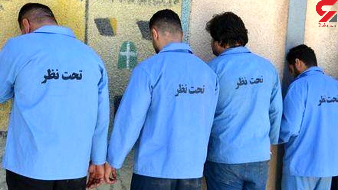 دستگیری 4 سارق حرفه ای در آبادان