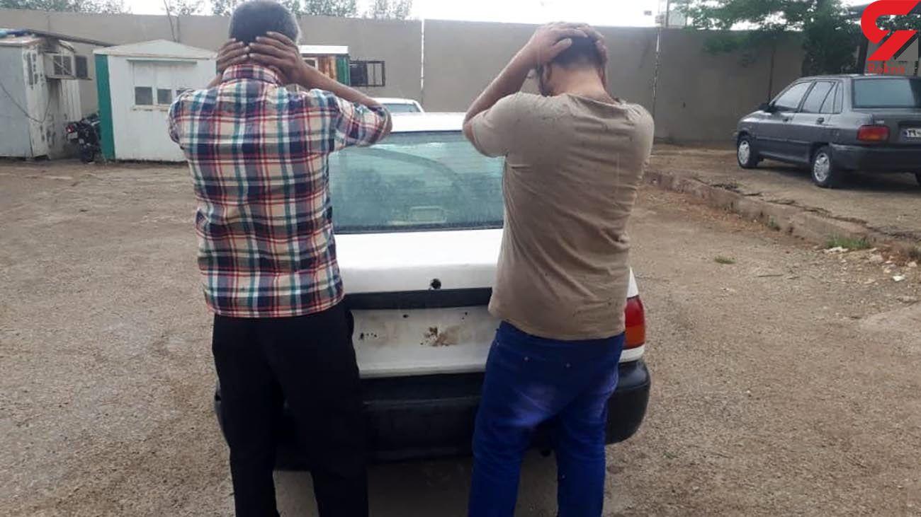 بازداشت 2 برادر در آبادان که نزد هم بی آبرو بودند + عکس