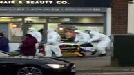 اقدام عجیب ماموران بهداشت انگلیس هنگام حمل و نقل بیمار کرونایی +  فیلم