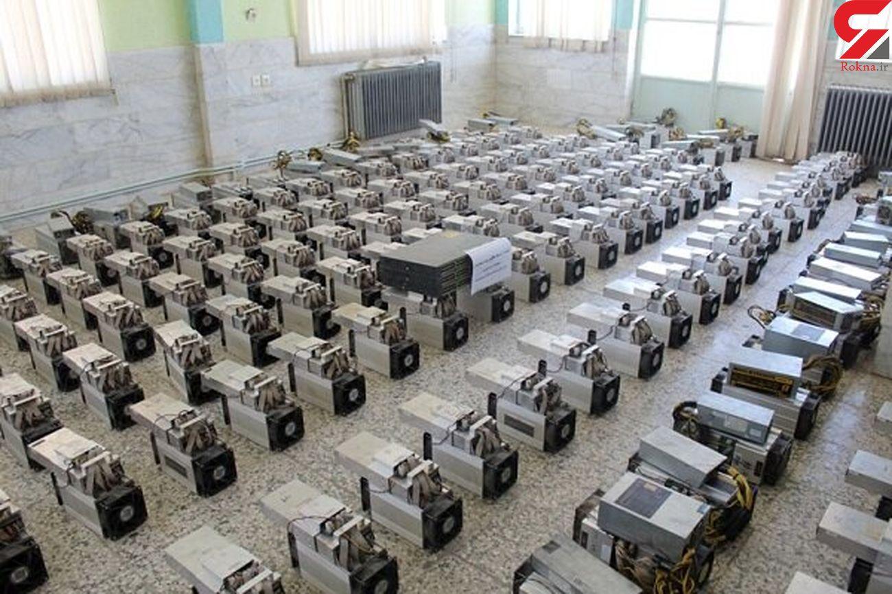 کشف 30 دستگاه استخراج ارز دیجیتال در همدان