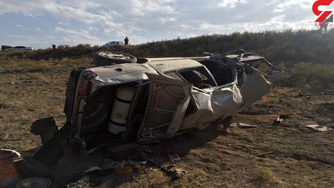 ۱۰ مصدوم حاصل تصادفهای جادهای شاهرود