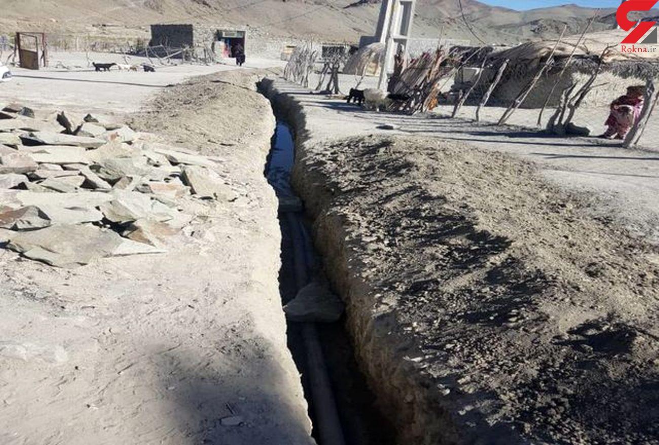 """بهره مندی ۶۶ خانوار """"زمین حسن"""" بشاگرد از آب پایدار"""