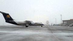 بحران وحشت در فرودگاه سنندج / ترس مسافران از تکرار فاجعه هوایی! + عکس