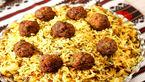 کلم پلو شیرازیبا گوشت چرخ کردخ+دستور پخت