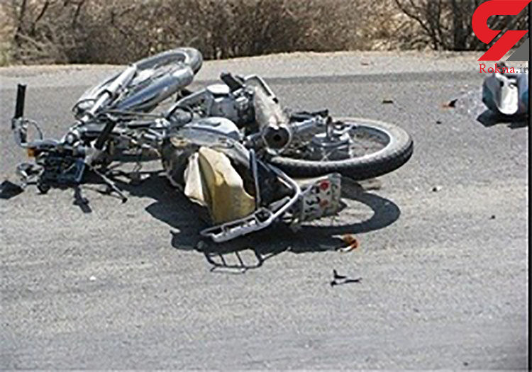 مرگ موتورسوار جوان در سانحه رانندگی محور رامهرمز-بهبهان