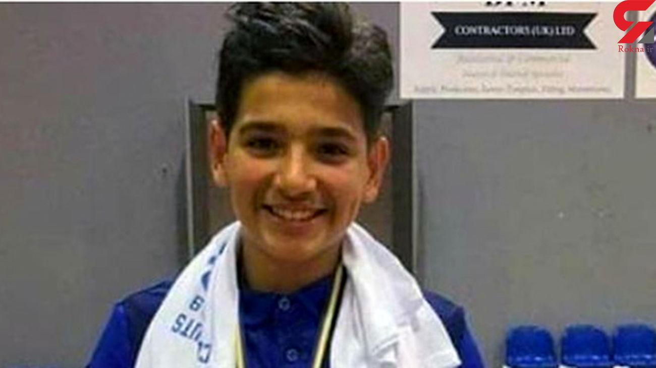 مرگ فوتسالیست نوجوان براثر کرونا + عکس