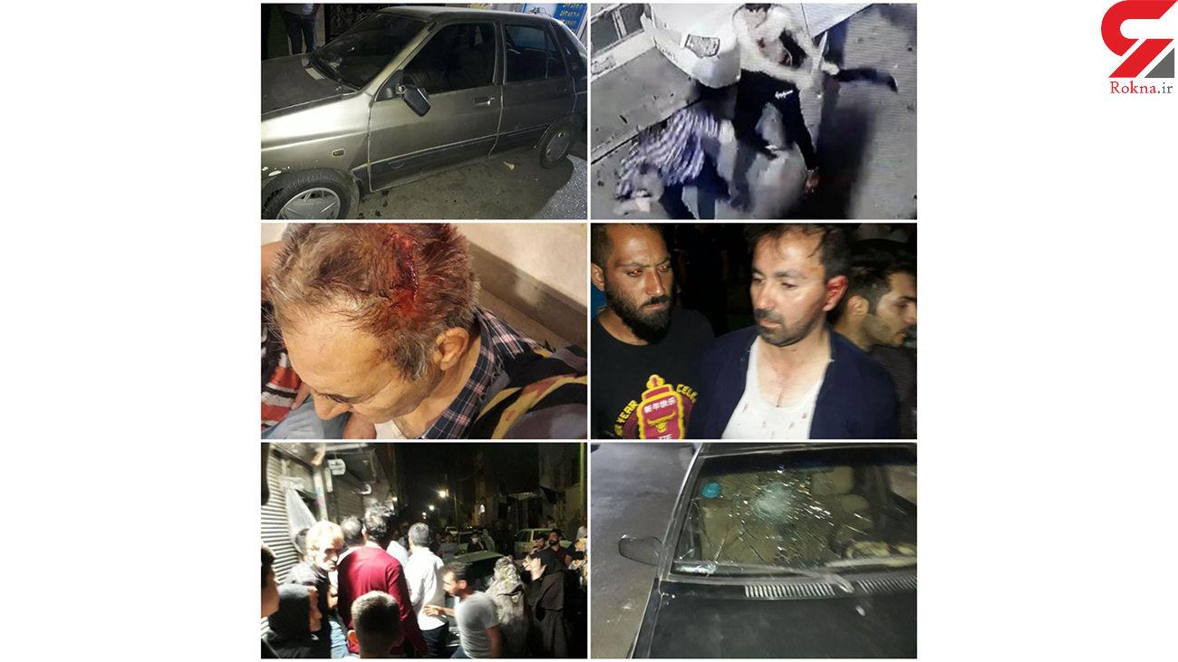 قمه کش های نسیمشهر به جان و مال مردم صدمه زدند+ فیلم و عکس