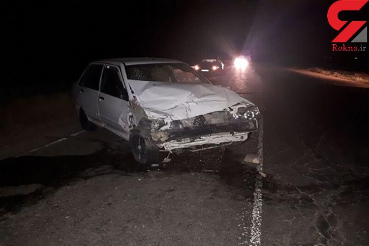 حادثه مرگبار  در جاده زنجان /  پراید فاجعه ای مرگبار داشت + عکس
